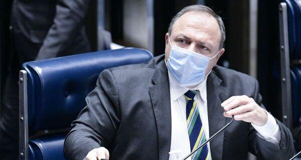 Ministro da Saúde diz que população brasileira será vacinada até o fim do ano