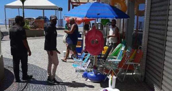 Prefeitura de Cabo Frio combate ocupações irregulares em calçadas