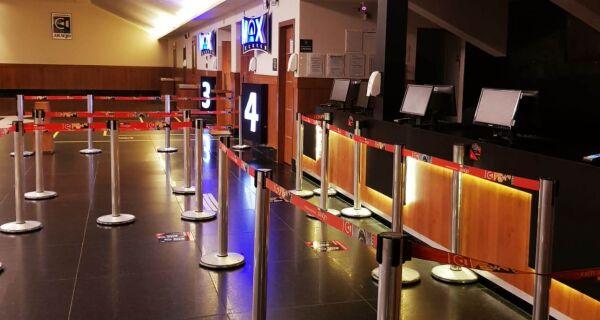 Após decreto da Prefeitura, salas de cinema do Shopping Park Lagos são reabertas