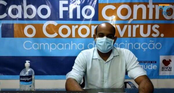 Avanço na vacinação em Cabo Frio depende de envio de doses pelo Governo Federal, diz secretário