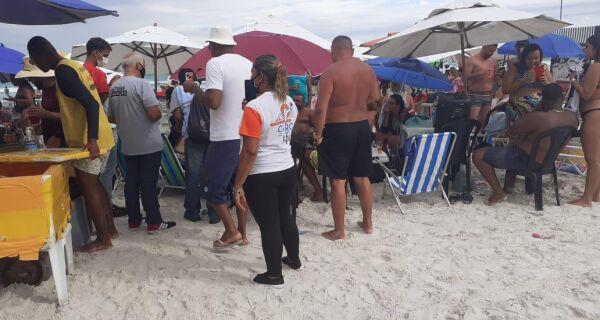 Cabo Frio notifica mais de 70 comércios que descumpriram decretos contra Covid no Carnaval