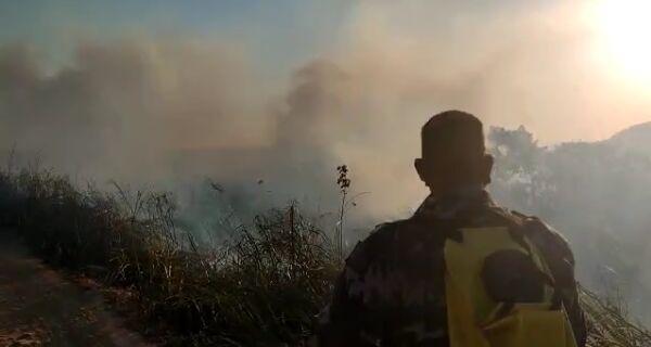 Guarda Ambiental registra média de um incêndio a cada dois dias em São Pedro da Aldeia