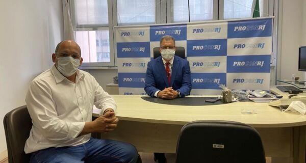 Marcelo Magno se reúne com presidente estadual do Procon e acerta fiscalização em Arraial do Cabo