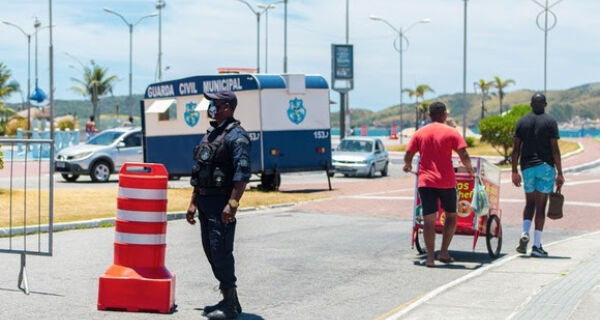 Prefeitura divulga novas datas para fechamento do trânsito na orla da Praia do Forte