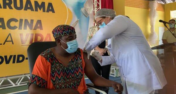 Araruama imunizou 3.472 pessoas desde o começo da vacinação contra Covid-19