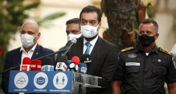 Governador anuncia abertura de leitos, chegada de vacinas e calendário unificado de imunização