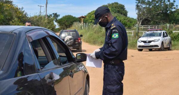 Prefeitura de Búzios intensifica medidas de segurança e fiscalização na barreira sanitária