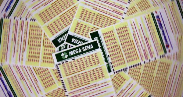 Mega-Sena sorteia nesta quarta prêmio de R$ 2,5 milhões