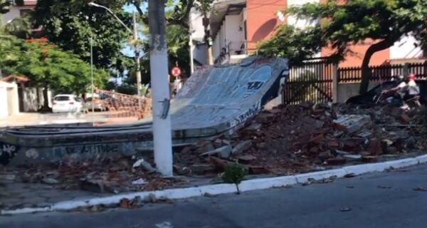 Prefeitura de Cabo Frio acaba com pista de skate que ficava ao lado do Teatro Municipal