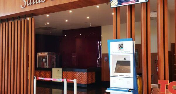 Cinemas do Shopping Park Lagos, em Cabo Frio, reabrem nesta quinta (29) com 50% da capacidade
