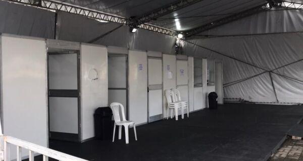 Falta de médicos prejudica atendimento na tenda de triagem da Covid em Cabo Frio