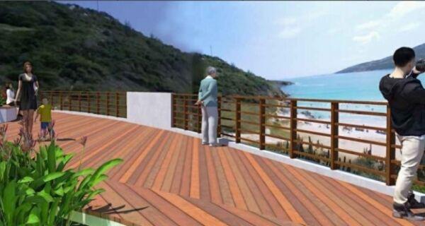 Construção do Mirante da Prainha, em Arraial, terá início na próxima segunda-feira (26)