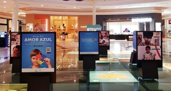 Shopping Park Lagos recebe exposição sobreDia Mundial de Conscientização do Autismo até domingo