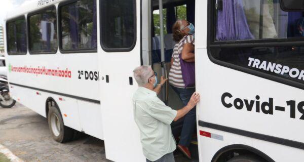 Prefeitura disponibiliza ônibus para ajudar na vacinação contra a Covid-19 em Araruama