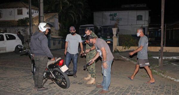 Prefeitura de Búzios faz operação contra uso de cano de descarga adulterado em motos