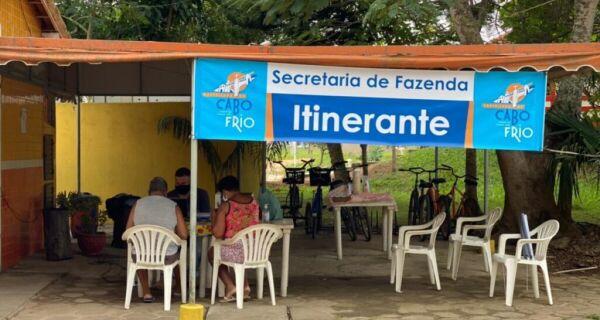 Prefeitura de Cabo Frio leva serviços itinerantes da Secretaria de Fazenda para Unamar