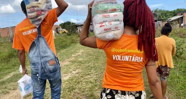 Cabo Frio Solidária: doações chegam a mais de mil famílias na pandemia