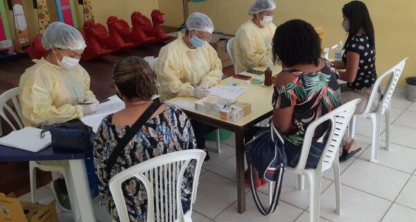 Araruama realiza mais uma testagem em massa da Covid-19 em profissionais da rede pública de Educação