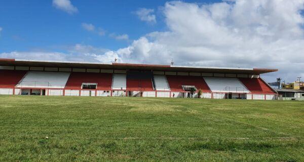 Arraial busca liberação do Estádio Barcelão para jogos e eventos