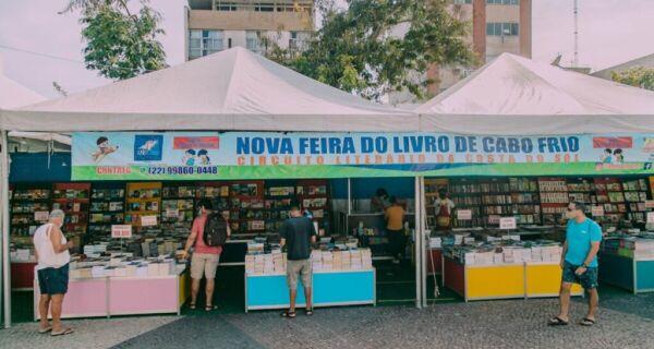 Praça Porto Rocha recebe a Nova Feira do Livro de Cabo Frio