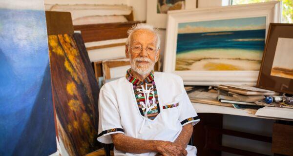 Morador de Cabo Frio, pintor e cineasta Gérson Tavares morre aos 95 anos