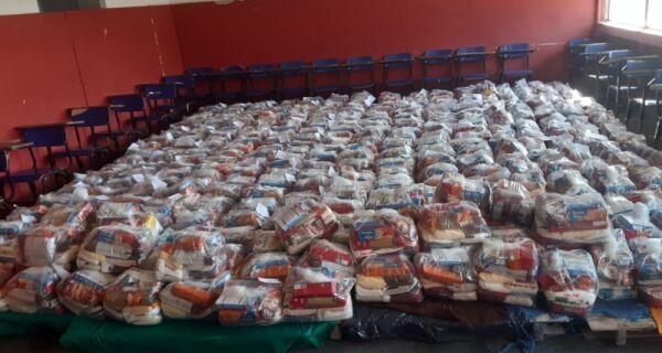 Arraial anuncia horários para entrega dos Kits alimentação para alunos da rede nesta segunda (24)