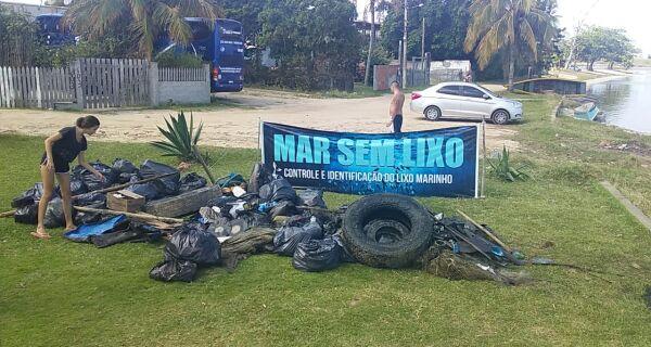 Cabo Frio e Araruama participam das ações de encerramento da Semana Nacional de Limpeza dos Mares