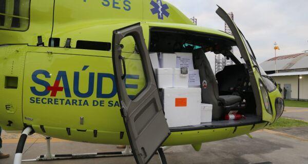Secretaria Estadual de Saúde distribui 247,7 mil doses da vacina para os municípios do Rio