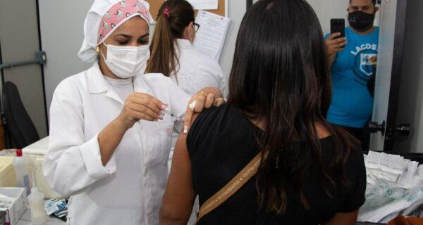Prefeitura de Arraial anuncia que 40% da população recebeu a primeira dose da vacina contra Covid-19