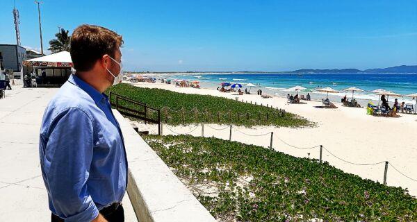Praia do Peró terá centro de informações turísticas