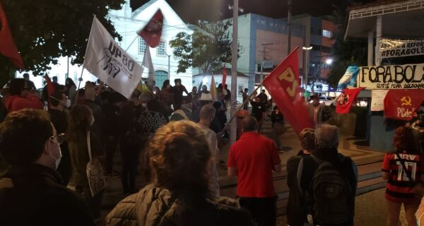 Cabo Frio tem novo protesto contra Bolsonaro nesta sexta-feira (18)
