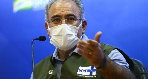 Ministro da Saúde anuncia chegada de 3 milhões de vacinas Janssen, que tem aplicação de dose única
