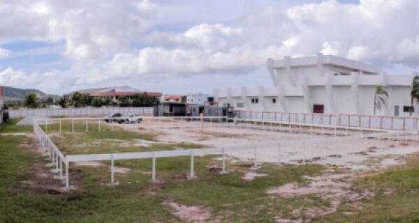 Primeira etapa da construção do complexo cinematográfico é iniciada em São Pedro da Aldeia