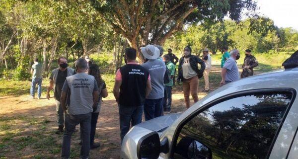 Operação contra grilagem de terras em Cabo Frio embarga loteamentos irregulares em área quilombola