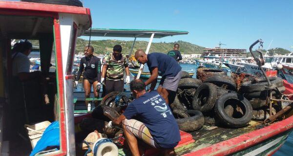 Dia Mundial do Meio Ambiente terá limpeza subaquática na Marina dos Pescadores, em Arraial