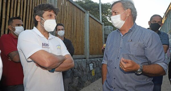 Prefeito de Búzios se reúne com MPF para tratar de ordenamento das praias