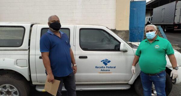 Aremac recebe doação de dois veículos da Receita Federal