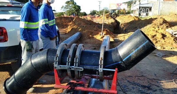 Duplicação da RJ-106 provoca desvio na rede de água e pode afetar fornecimento em Búzios e Tamoios
