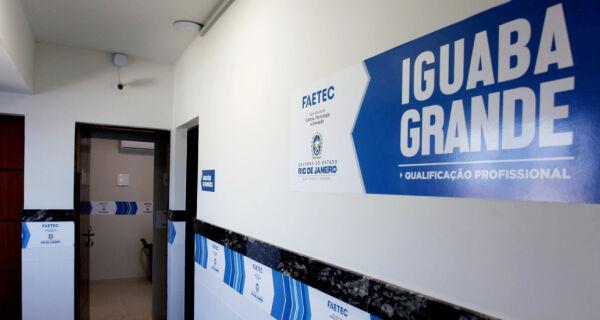 Governo do Estado inaugura unidade da Faetec em Iguaba Grande