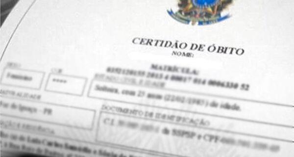 Cartórios do Rio registram 1º semestre com mais óbitos e menos nascimentos da história