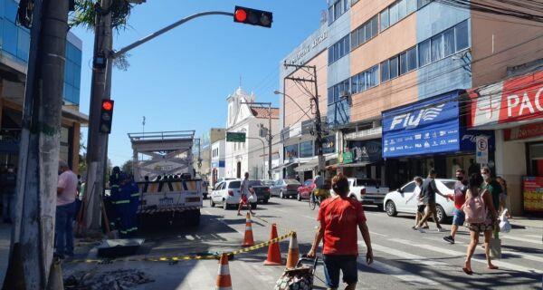 Prefeitura de Cabo Frio inicia troca de sinais de trânsito