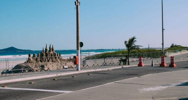 Prefeitura de Cabo Frio divulga novas datas para fechamento orla da Praia do Forte