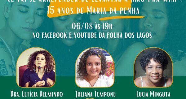 Projeto Nosso Samba promove live sobre 15 anos da Lei Maria da Penha nesta sexta (6)