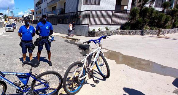 Prefeitura de Cabo Frio promete reforço no patrulhamento por bicicleta no Peró para o verão
