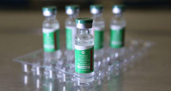 Estado distribui mais 50 mil doses da AstraZeneca para segunda aplicação
