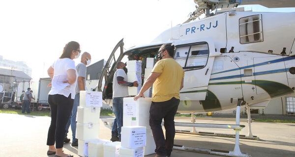 Governo do Estado começa a entregar lote de mais de 1,4 milhão de vacinas contra Covid-19