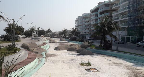 Prefeitura de Cabo Frio estuda o que fazer com Praça das Águas