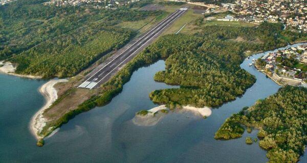 Governo do Estado realizará processo licitatório para ampliação do Aeroporto de Angra dos Reis