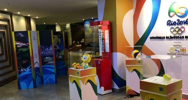 Exposição 'Rio 2016 - Memórias Olímpicas em Cabo Frio' será aberta sábado (11) no Paradiso Corporate