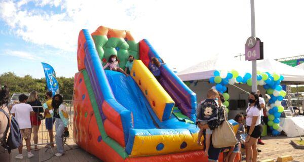 Maratoninha Kids celebra o Dia das Crianças no Shopping Park Lagos, em Cabo Frio